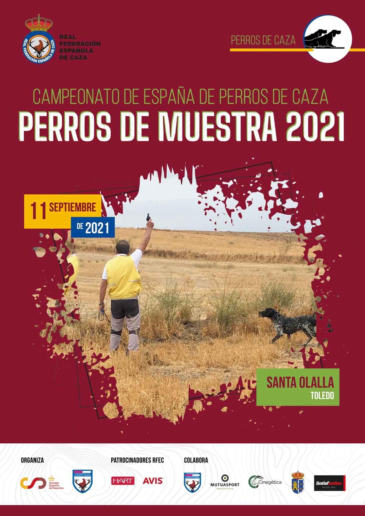 Campeonato de España de Perros de Muestra 2021