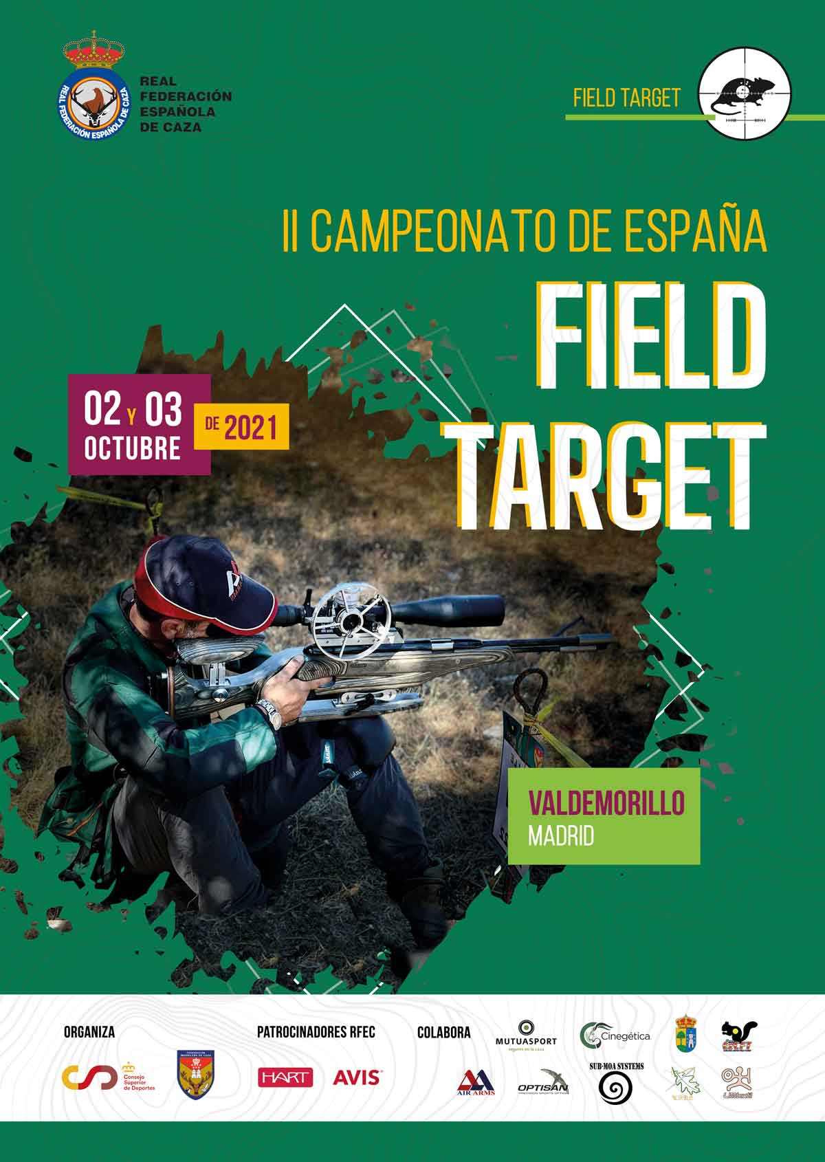 Campeonato de España de Field Target 2021