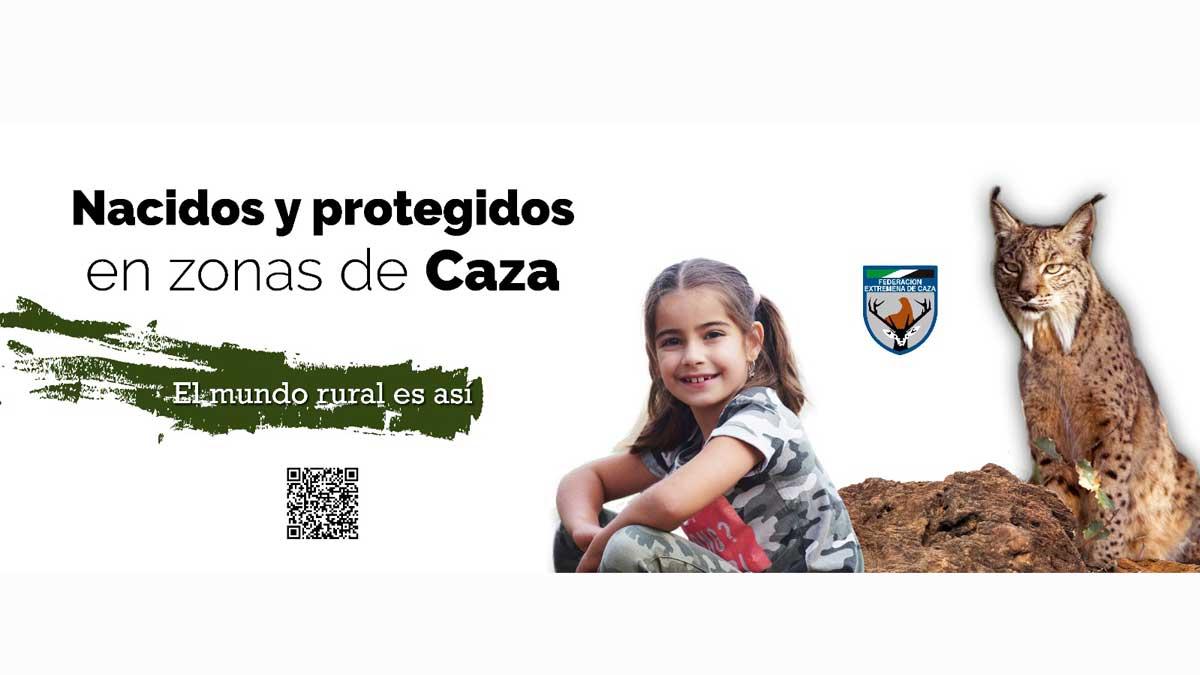 Campaña publicitaria sobre caza de Fedexcaza