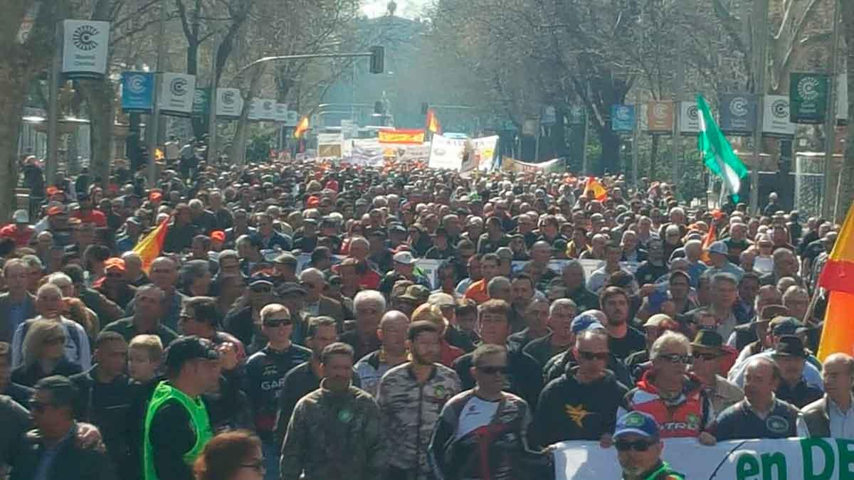 Manifestación rural 3 marzo 2019